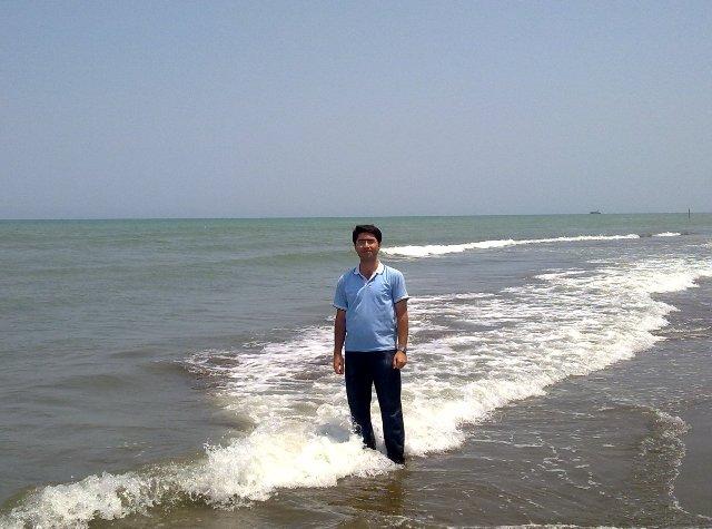 ساحل دریای خزر- نوشهر