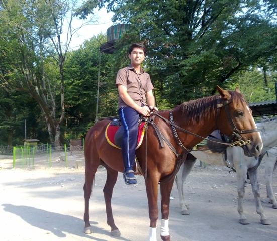 اسب سواری- جنگل سیسنگان